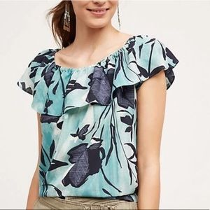 Anthropologie Maeve Islander Off The Shoulder Top